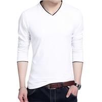 Spring Fashion Men S T Shirts Casual V Neck Men Tshirt Fitness Casual Male T Shirts
