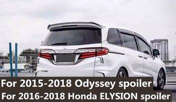 Para 2014 para 2018 honda Odyssey cartilha preto ou cor branca pintura asa traseira tronco spoiler traseiro Para honda Odyssey spoiler