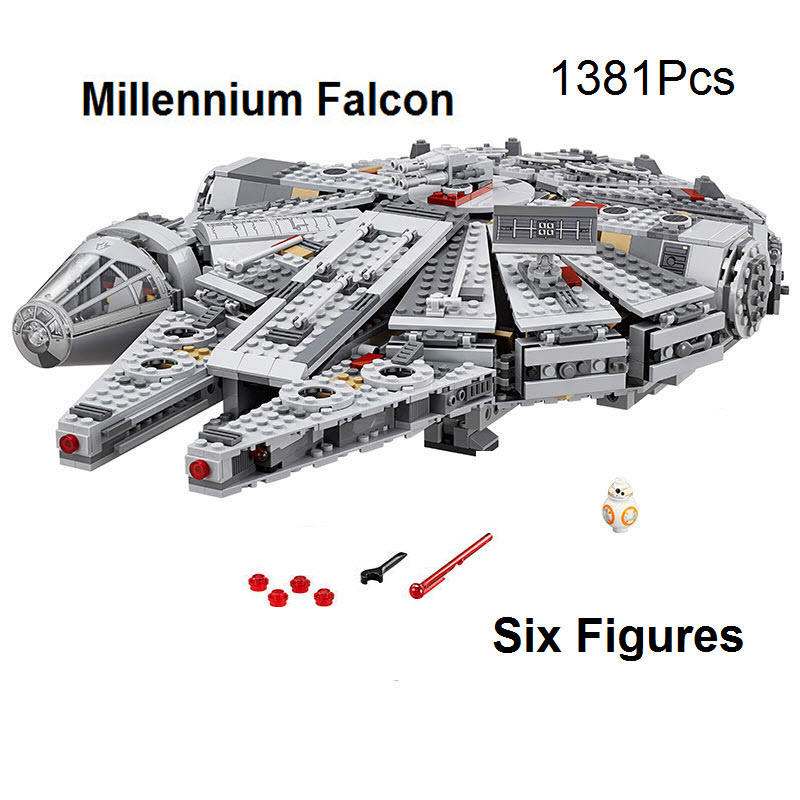 2016 Lepin Wars Stars Millennium Falcon Figures Toys Building Blocks Compatible With Star Series Wars Sets