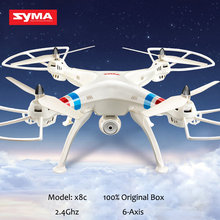 SYMA X8C 2 4G 4CH 6Axis Professional RC font b Drone b font Quadcopter 2MP Wide