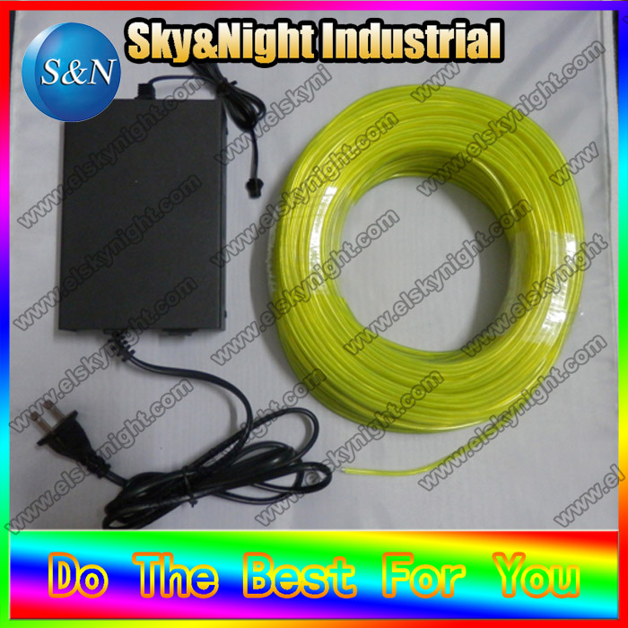 2,3mm 100 M Zitrone Neuheit string urlaub nacht lichter indoor outdoor dekoration + 220 v Inverter Mit freies verschiffen