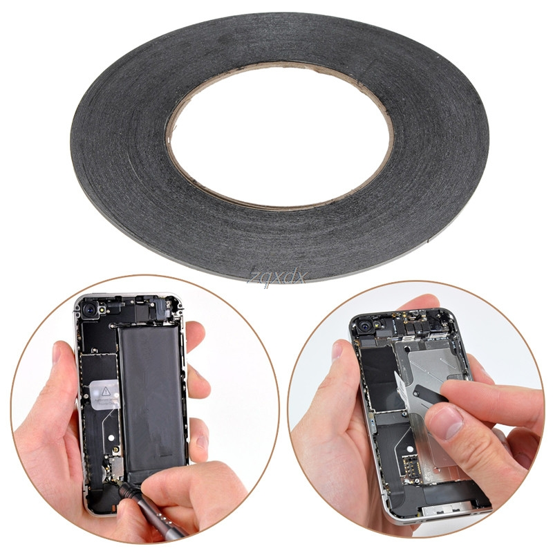 2mm 50m Double Sided 3M Sticky Adhesive Tape For Cell Phone LCD Screen Repair Whosale&Dropship
