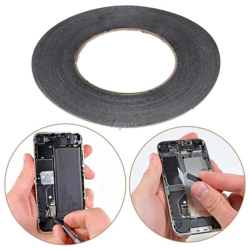 3mm Cinta de Doble Cara Adhesivo Pegajoso Goma Teléfono Móvil Pantalla Táctil LCD