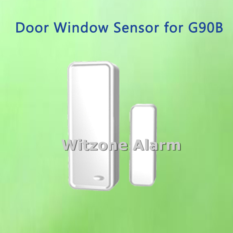 купить 2pcs/lot New Hot Selling Wireless Door/Window Sensor Door Gap Contact for WIFI GSM GPRS Alarme System G90B онлайн