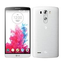 100% Débloqué Original LG G3 D855 D850 D851 GSM 3G et 4G Android Quad-core RAM 3 GB 5.5 pouce 13MP Caméra WIFI GPS 16 GB Mobile téléphone