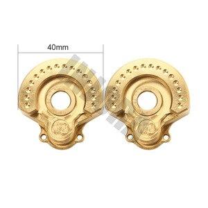 Image 3 - INJORA 2PCS TRX4 In Ottone Contrappeso Peso di Equilibrio Portale Drive Custodia per 1:10 RC Crawler Traxxas TRX 4 TRX 6