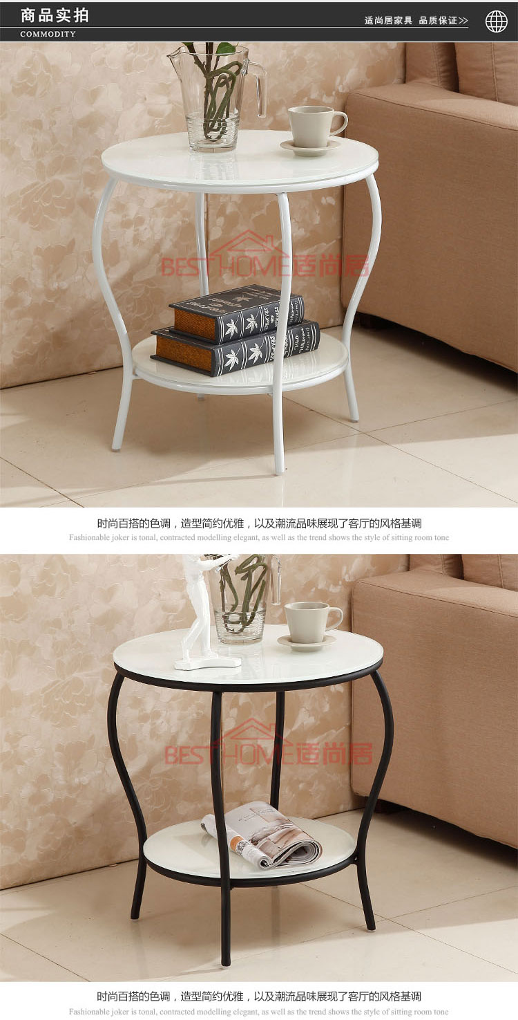 Hardware Double Glazing Rounded Corners Toughened Small Tea Table Coffee Tables In From Furniture On Aliexpress Alibaba Group