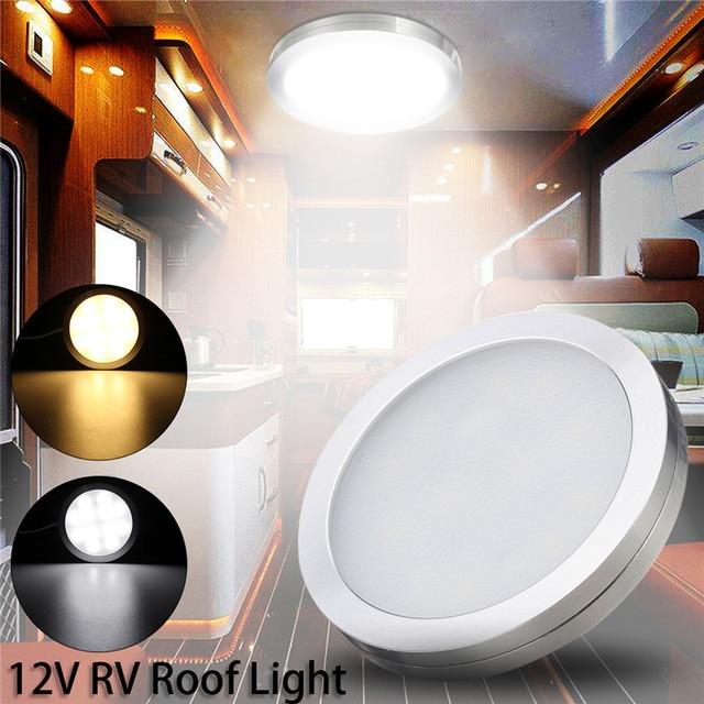 12v Led Recessed Down Light 2w Car Interior Lighting Interior Roof