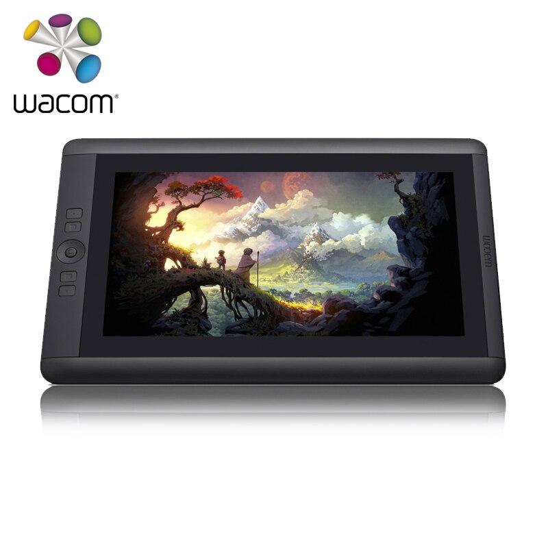 Wacom Cintiq 13HD DTK 1301 творческий ручка дисплей планшеты мониторы DHL EMS Бесплатная доставка