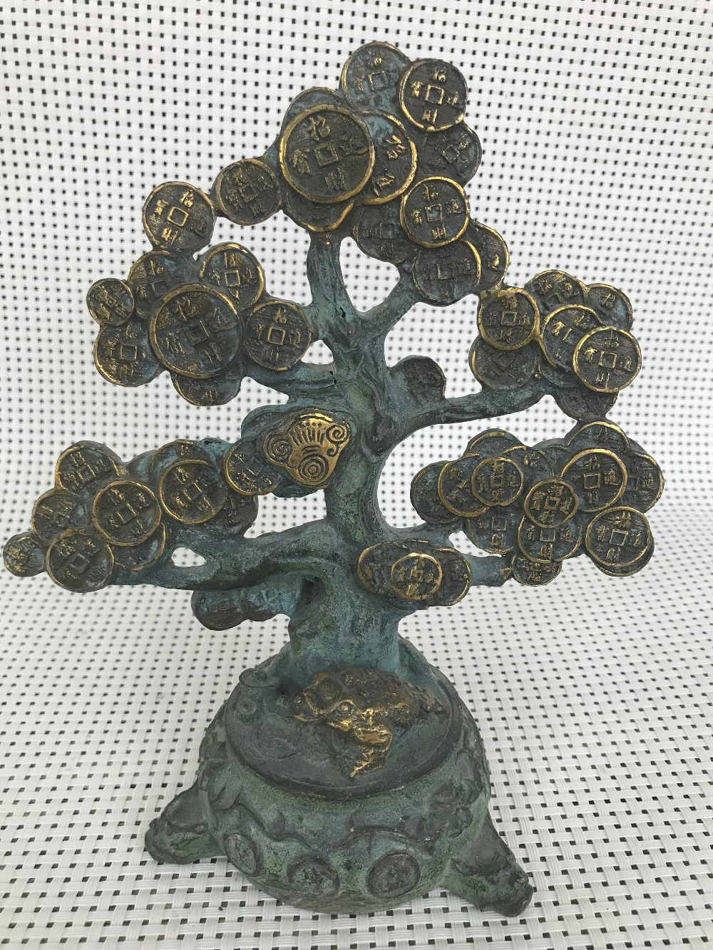 Chinese Copper sculpture China Earn money tree Statue statues for decoration Home DecorationsChinese Copper sculpture China Earn money tree Statue statues for decoration Home Decorations