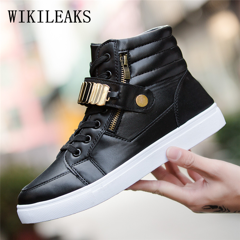 men shoes casual metal sequins high top street dancing shoes hip hop leather shoes men sapato masculino tenis masculino esportiv casual dancing sneakers hip hop shoes high top casual shoes men patent leather flat shoes zapatillas deportivas hombre 61