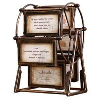 Vintage Ferris Wheel Photo Frame Creative Multi Box Photo Frame Frame Home Decor Picture Frame Crafts Photo Studio Wedding Props