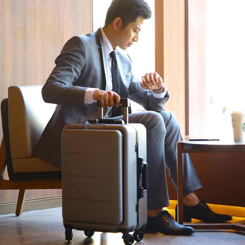 """20 """"24"""" дюймовый Женский прокатный багаж чемодан для путешествия чехол с сумкой для ноутбука, Мужская универсальная колесная тележка коробка для ПК 18 """"багаж для салона"""