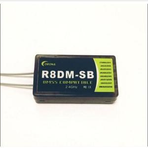 Image 1 - كورونا R8DM SB 2.4G 8CH أنظمة إدارة الوجهات السياحية استقبال متوافق مع S. Bus دعم JR أنظمة إدارة الوجهات السياحية XG6
