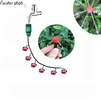 Gardening Watering Is One Of The New Drop Indoor Spraying Automatic Drip Irrigation System Shower Flower