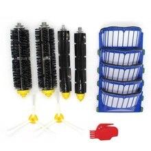 Side Brush Hepa Filters Borstel Flexibele Klopper Borstel Vervanging Voor Irobot Roomba 500 600 Series Robotstofzuiger Onderdelen