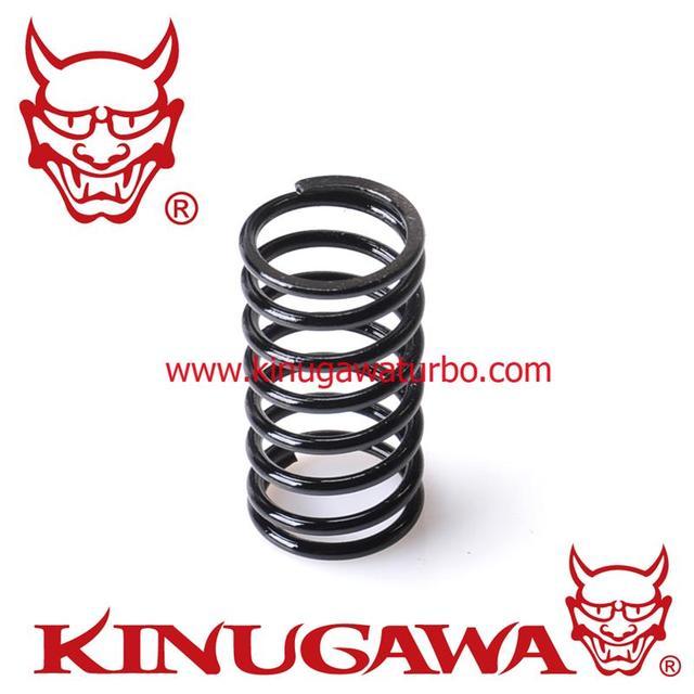 Kinugawa Ajustável Turbo Wastegate Atuador Primavera 1.2bar/17.6 Psi Preto