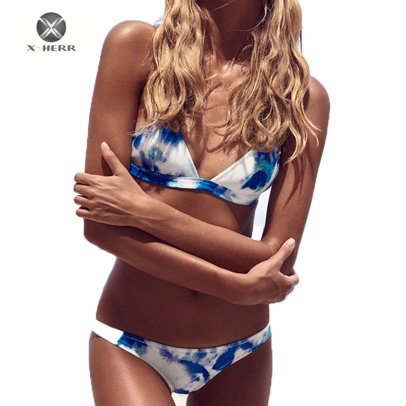X-HERR Women Bikini 2017 Bikinis Set Micro Bikini Brazilian Biquini Sexy Swimsuit Push Up Bahting Suits Monokini Maio Praia юбка the xuan herr k15375