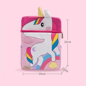 Image 2 - Cartoon Animal School Bag School Backpack For Girls Boy Kindergarten Childrens mochila Kids Bag Orthopedic Satchel
