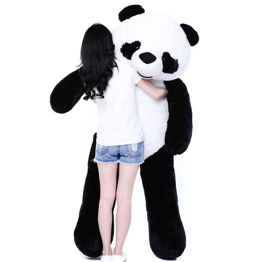 Panda Мягкая Игрушечные лошадки плюшевые Животные большие мягкие гигантский куклы Brinquedos Menina подарки на день рождения peluche gigante Подушки Детски