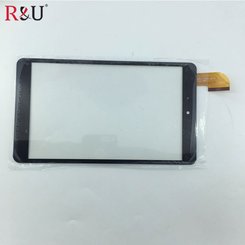 8 inch front Touch screen panel digitizer handwriting screen replacement parts for DXP2-0350-080A Cube U33GT U27GT Tablet PC new 10 1 inch capacitive touch screen panel dxp2 0289 101a fpc glass screen 51pin dxp2 0289 101a fps free shipping 10pcs lot href