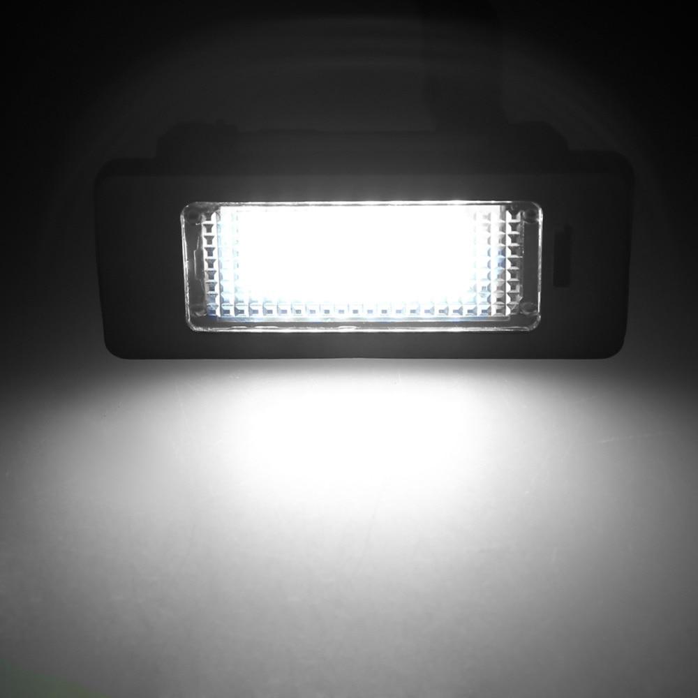 2pcs 24 SMD avto led luč registrske tablice za BMW E90 E82 E92 E93 - Avtomobilske luči - Fotografija 4