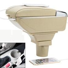 Автомобильный подлокотник коробка для хранения с USB для Chevrolet Aveo LOVA nexia daewoo gentra 2005 2006 2007 2008 2009 2010 2011