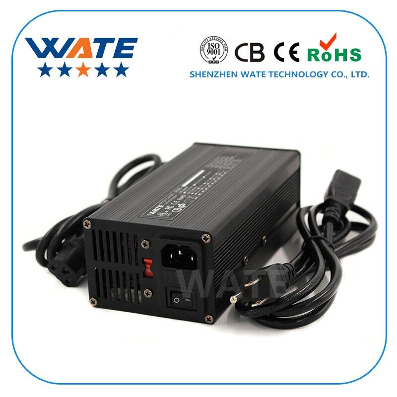84 v 4A Chargeur 20 s 72 v E-Vélo Li-ion Batterie Intelligent Chargeur Lipo/LiMn2O4/LiCoO2 batterie Chargeur Avec Ventilateur En Aluminium Cas