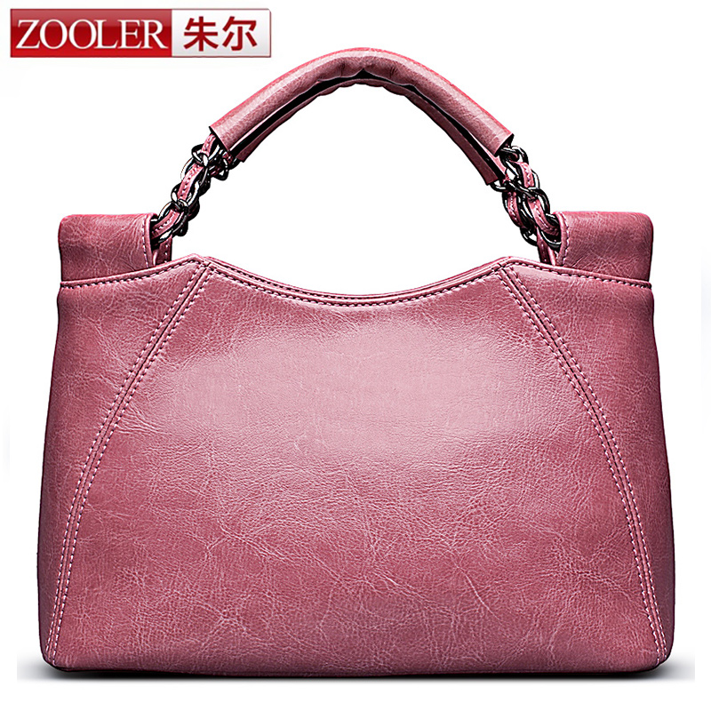 ZOOLER 2017 woman leather bag luxury elegant leather handbag bag women bags Limited sale OL lady beloved  bolsos for ladies#2351