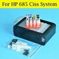 1 Satz Ciss Für HP 685 Continuous Ink Supply System Für HP Deskjet 3525 5525 4615 4625 6525 Drucker Mit ARC Chip-in Fortlaufendes Tinten-Versorgungssystem aus Computer und Büro bei