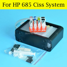 1 Set Ciss For HP 685 Continuous Ink Supply System For HP Deskjet 3525 5525 4615