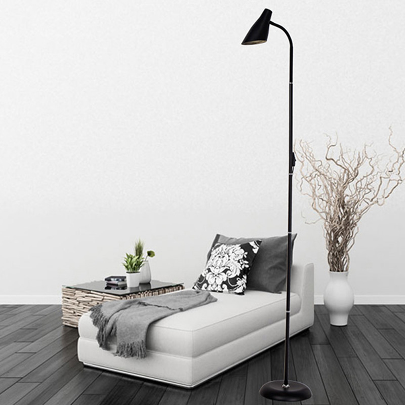 Personality Vertical Floor Lamp For Living Room Bedroom Nordic Creativity Standing Lamp Simple Modern Soft Light Lampadaire