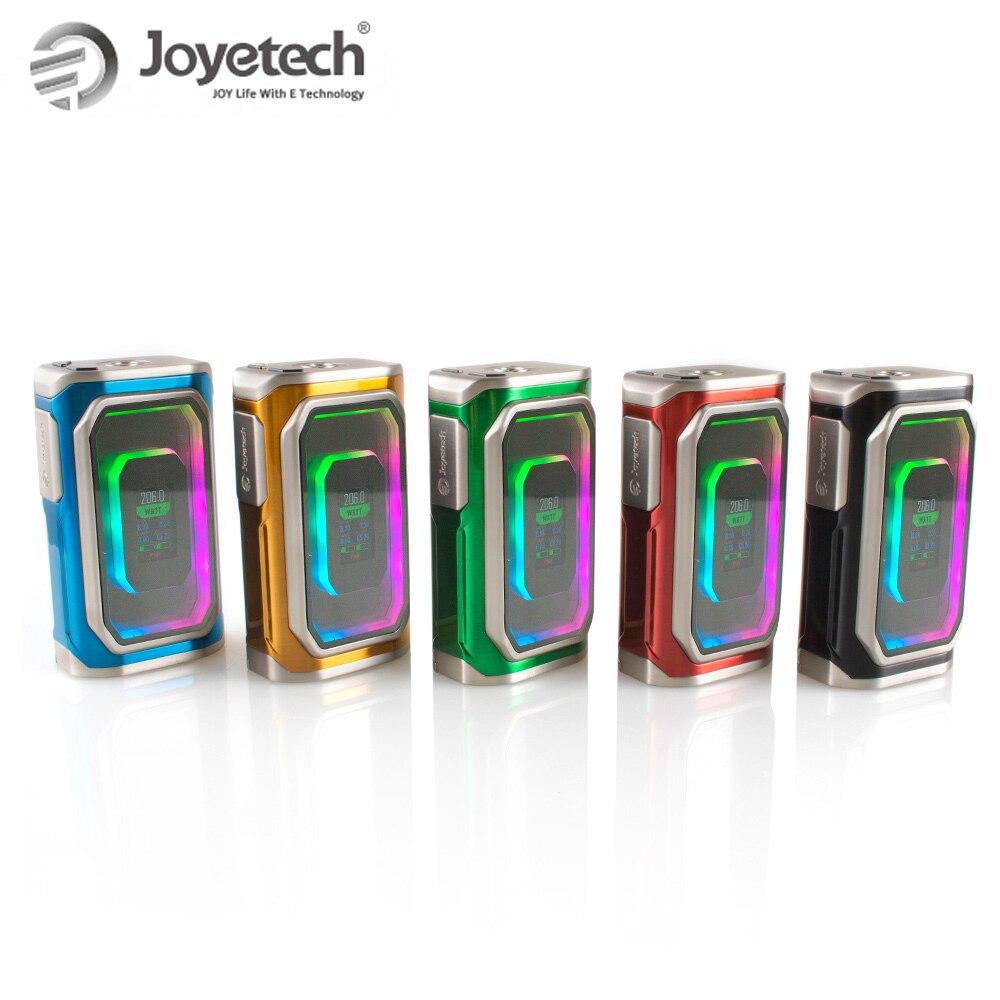 Joyetech Original ESPION infini TC boîte MOD 230 W mod boîte puissance/RTC/dérivation/TC (Ni, Ti, SS316)/TCR modes e-cigs vape mod