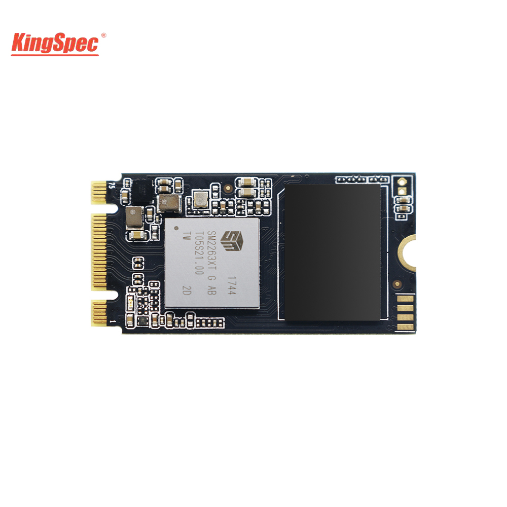 KingSpec 22x42mm PCI-e Signal Gen3.0x2 NVMe Internal M.2 SSD 512GB Solid Hard Disk HD SSD M2 PCIe Hard Drive for Laptop PC