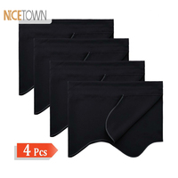 NICETOWN 4 Pieces Kitchen Aacceries Room Darkening Valances Rod Pocket Curtains Tier for Small Window Rustic Decorations Home