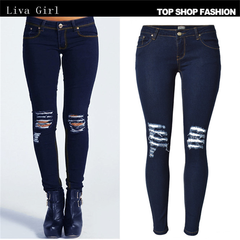 Compare Prices on Girls Wearing Denim Jeans- Online Shopping/Buy ...