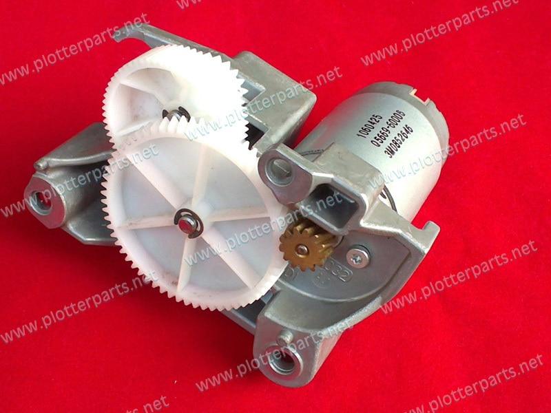 Q5669-60704 Media motor for HP DJ T 1100 1120 1200 1300 2300 610 620 770 790 Z 2100 3100 3200 5200 Plotter Part Original used