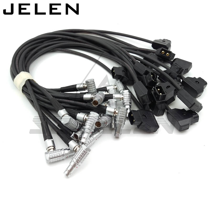 Tap D-TAP to lemo connector FHG 0B 2 pin Power Adapter Cable for Teradek Bond  45CM 40pcs tap