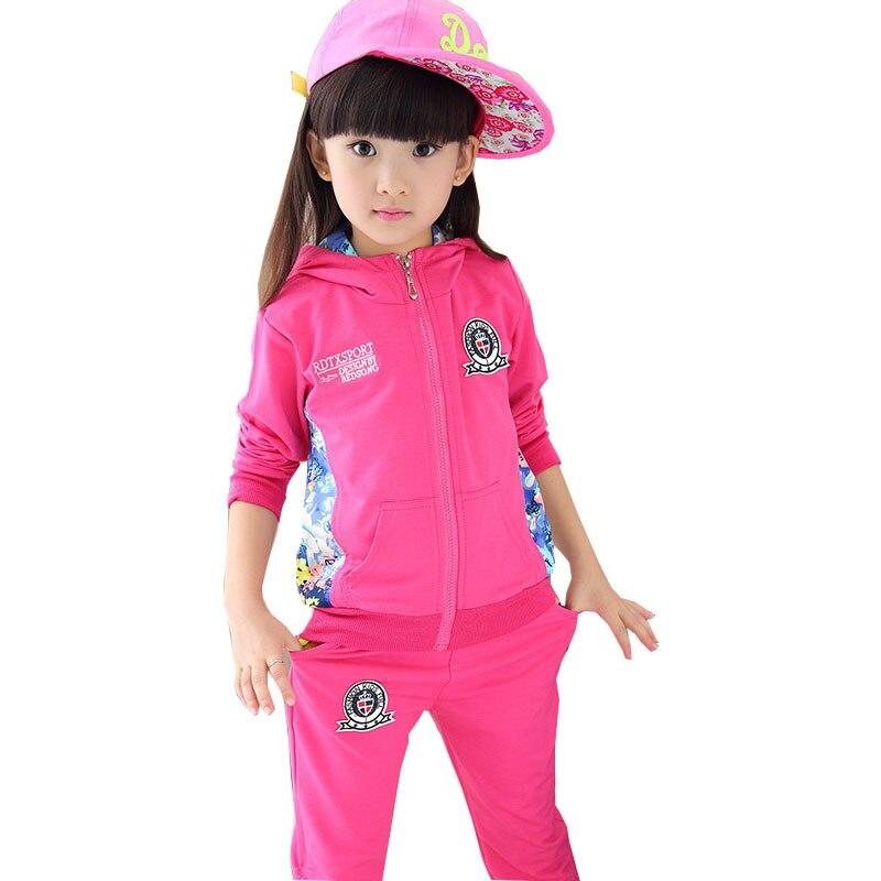 Crianças 2019 novos grandes meninas virgens através Floral Coreano crachá terno uma geração de gordura do bebê roupas de menina