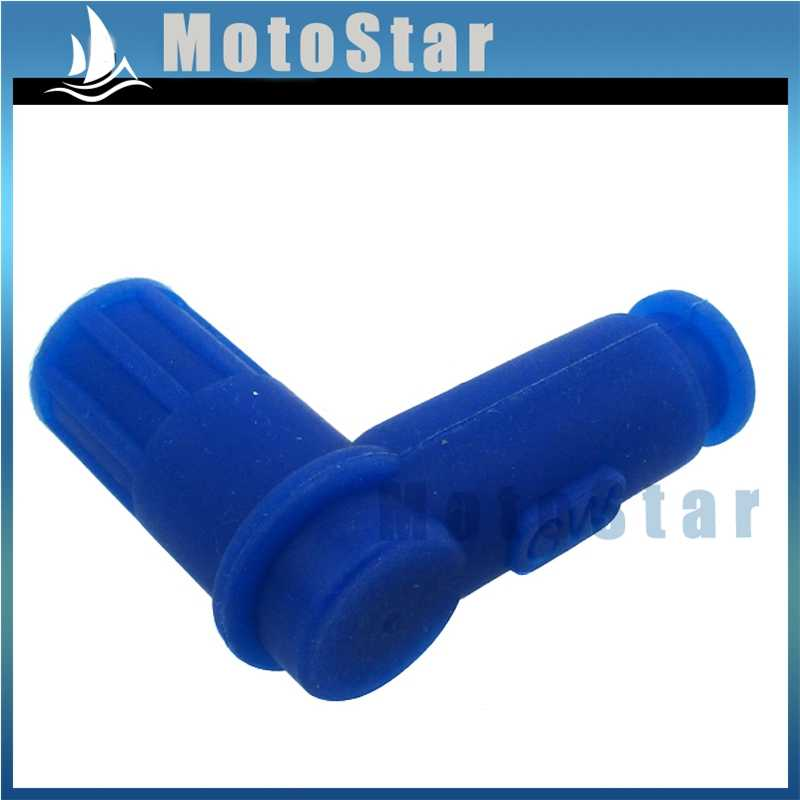 Detail Feedback Questions About Blue Ignition Spark Plug Cap For
