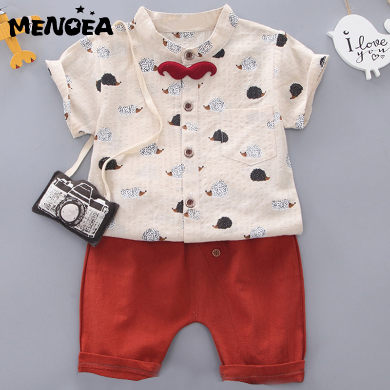 US 2Pcs Baby Boys Casual Long Sleeve Shirt Braces Jeans Set Kids Clothes Outfits