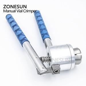 Image 4 - Zonesun 13 15 20mm manual de aço inoxidável frasco perfume spray crimper mão tampando crimper selo tampando ferramenta