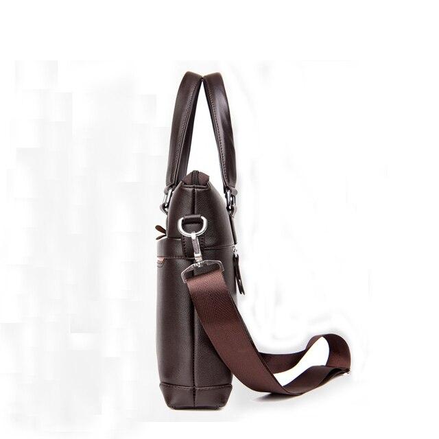 Handbag Men Messenger Bags PU Leather Man Bags Fashion Male Men's Briefcase Man Casual Shoulder Bag 3
