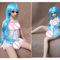 Height 65cm mini real silicone sex dolls full silicone lifelike Japanese sex dolls For Men Sex Product