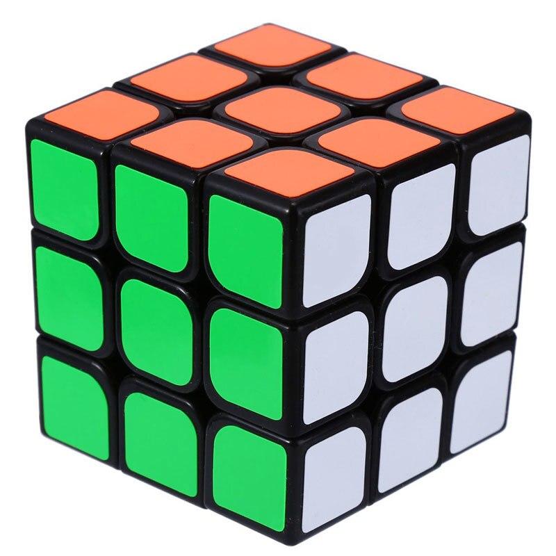 3x3x3 Три Слоя Игрушка Куб Головоломка Магический Куб 3x3x3 Profissional Черный & белый Цвета Neo Cube Игрушки Для Детей