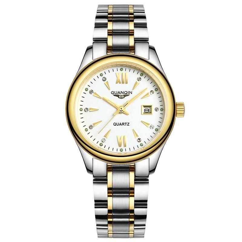 GUANQIN GQ80019 watches men luxury brand fashion female new Korean female European and American small dial simple luminous