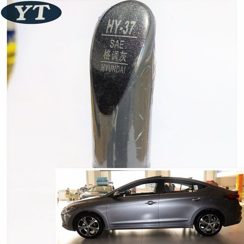 Car Scratch Repair Pen, Auto Paint Pen GRAY Color For Hyundai IX35 IX25 Elantra Accent I30 Verna Tucson Sonata Santafe