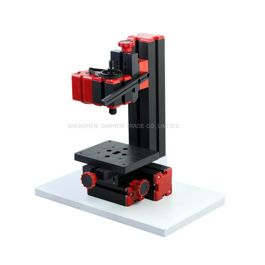 1 PC Mini tour Machine 20000r/min 110 V-240 V scie établi zone 90*90mm Mini combiné Machine-outil plaque en plastique