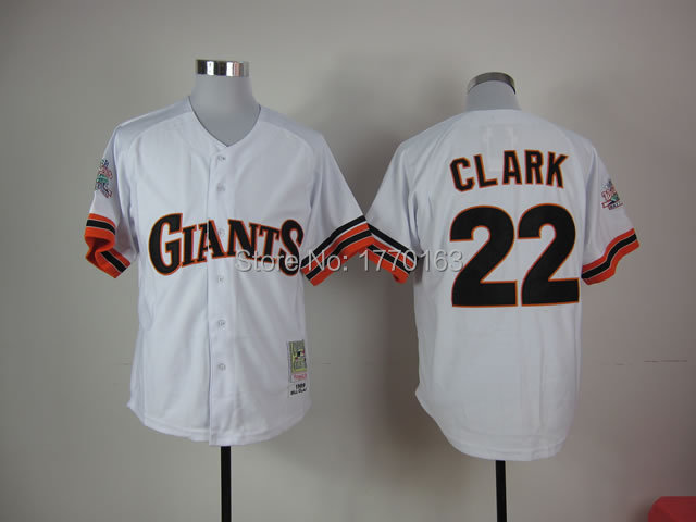 check out 9798c 891ee 2014 San Francisco Giants #22 Will Clark Jersey SF Giants ...