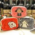 Мультфильм НИКИ животных плюшевые мешок карточки бумажник овец медведь кошка коала пингвин шаблон портмоне dime сумки детские подарок на день рождения 1 шт.